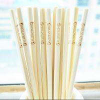 家用竹筷子无漆中式餐具儿童竹筷原色无蜡家庭用纯天然