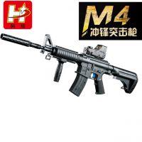 M4阻击水弹枪H9992 模型枪仿真枪电动玩具枪军事模型新品正品包邮