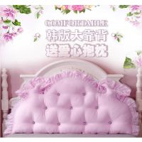 韩式床头靠垫 大靠背 可爱 公主风 欧式床靠床上靠枕榻榻米软包