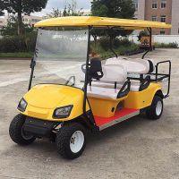 6座高尔夫球车电动 景区游览车巡逻车 楼盘看房车 会所电瓶接待车