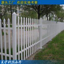 阳江工厂社区绿化栏杆 揭阳pvc塑钢围墙护栏 公园草坪围栏