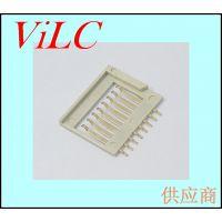 全塑型-简易8P平贴 TF卡座 记忆卡卡槽 MICRO SD卡座 镀金1U 编带