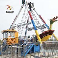 儿童游乐场游艺设施项目洛阳童星厂家生产24人海盗船