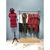 翔月夏装运动套装品牌女装专卖店热销特价折扣货源供应