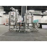 尊皇ZH-300L德式两锅三器型精酿啤酒设备糖化系统
