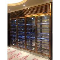 厂家直销镀色不锈钢酒架 定制红酒不锈钢酒柜 不锈钢酒柜