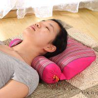 麦壳枕头麦壳枕头大豆成人枕头颈枕修复颈椎劲椎枕荞麦枕芯枕