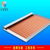 广东生产厂家直销铝合金瓦楞铝板波纹喷涂幕墙瓦楞吊顶铝板装饰