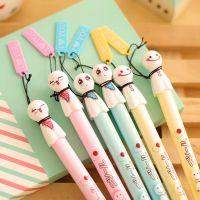 爱奇韩版文具 晴天娃娃 清新可爱黑色水笔 创意中性笔 学习用品