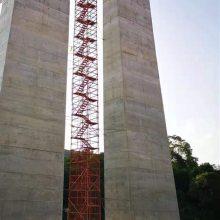 提供安全爬梯 多功能安全爬梯 墩柱安全爬梯标准尺寸 通达安全梯笼厂家