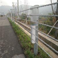 缆瑞路侧缆索护栏厂家钢丝绳缆索