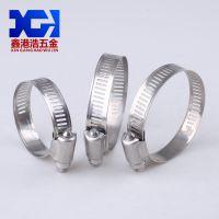 广州喉箍厂家批发201不锈钢十字槽卡箍规格齐全