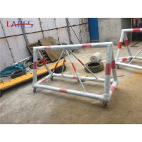 山西运城学校门口挡车护栏拒马移动护栏生产厂家