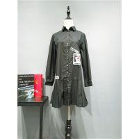 广州品牌女装索典秋冬装折扣走份专柜正品库存女装货源