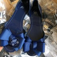 第一街外贸 欧美原单尾货品牌单!聚胺特殊材质鱼嘴鞋女平底凉鞋