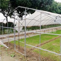 贵州拱形棚定做遵义温室大棚定做4分6分1.2寸镀锌管免费折弯安装