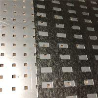 主材展厅瓷砖展板 800x800样品展示板 瓷砖样冲孔展板【至尚】金属