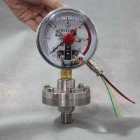 德胜YNXC-100耐震电接点压力表φ100量程0-16MPa代理