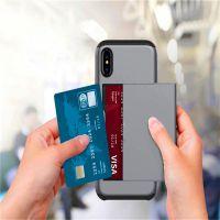 创意SGP滑盖插卡iphone 7手机壳二合一note8防摔盔甲保护套5s定制