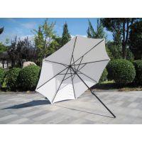 手摇式中柱太阳伞、户外手摇伞架庭院伞、庭院伞工厂
