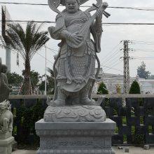 哼哈二将石雕像| 石雕仁王佛像|花岗岩大力金刚石像