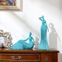 美式家居用品室内酒柜装饰品摆件创意客厅餐厅卧室房间欧式小摆设
