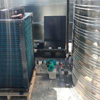 深圳九恒5P分体式空气能热水器安全中建八局工地空气能热泵热水工程