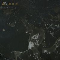 家装建材石材厂家直 优质天然黑银花大理石 装饰大理石 特价定制
