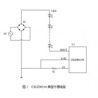 供应嘉泰姆驱动IC CXLE86144高PF无频闪单通道高压线性恒流LED芯片,单颗驱动6W