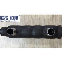 联拓.恒邦钢筋连接 灌浆套筒 半灌浆套筒 45#碳钢型号Φ12~40厂家直供