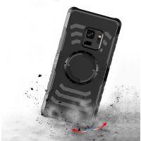 三星S9利剑多功能臂带iPhonex 手机壳车载磁铁i8二合一防摔保护套