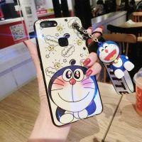 叮当猫可爱镭射蓝光7plus手机壳苹果8plus防摔iPhonex公仔支架