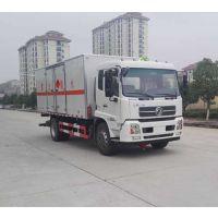 东风天锦7.6米DFH5160XRQBX2JV型4.8L易燃气体厢式运输车厂家***