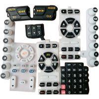 异形导电硅胶按键|各类遥控器硅胶按键|东莞硅胶按键定制加工厂