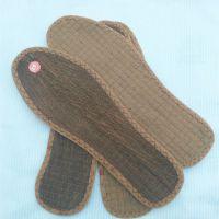 四川棕鞋垫厂家批发低价格除臭棕丝鞋垫 牢固锁边山棕鞋垫
