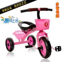 正品简易儿童三轮车单车自行车宝宝脚踏车童车-3-4-5-6岁滑行车