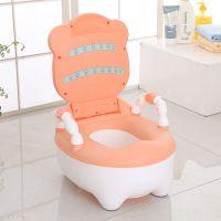 儿童坐便器加厚加大码可折叠婴幼男女宝宝通用马桶便盆1-3-6岁