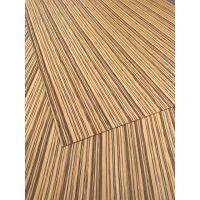 斑马装饰木墙板,斑马木皮贴面板,斑马木饰面板