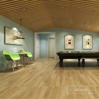 通州地胶生产厂家直供2.0mm密实光面木纹家装商用PVC塑胶地板