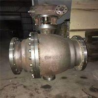 Q347H-16C 固定式球阀 Q347H/Y DN150 铸钢硬密封涡轮传动球阀