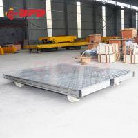 冶金设备手推轨道平板车改装蓄电池电动平车技术图纸铝合金地轨车