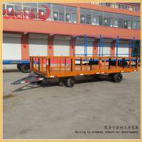 平板拖车定制 厂区运输用平板拖车 铜陵客户订购过跨拖车