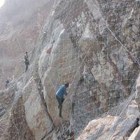 新疆乌鲁木齐边坡防护网厂家 主动防护网现货 被动防护网图片