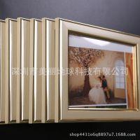 冲印加相框韩式婚纱照相框制作挂墙装饰画定制创意组合挂框照片墙