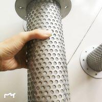 不锈钢过滤网筒 304圆形筒 带法兰盘过滤网筒厂家直销