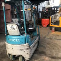 转让优质二手丰田0.7吨微型电动堆高车电梯专用