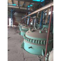 出售二手高压反应釜 316材质不锈钢反应釜 50立方不锈钢反应釜