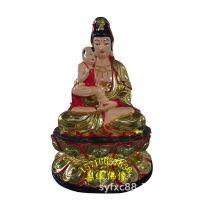 佛教送子娘娘佛像图片 抱孩子的观世音菩萨叫什么 求子保平安