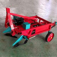 邦腾多功能高效率四轮拖拉机带动花生收获机 不伤花生收获机械