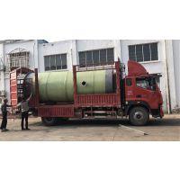 预埋式一体化污水提升泵站/玻璃钢污水提升泵站 润平厂家直供